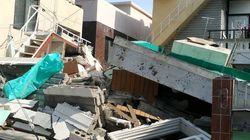 부산에서 단독주택이 무너져 노동자 5명이