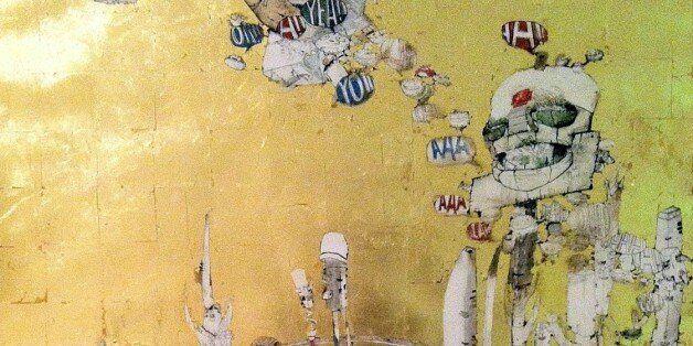 Το «Μεγάλο Χρυσό Δωμάτιο» του Κωνσταντίνου Παπαμιχαλόπουλου στην Πλάκα: Eκεί που τα κόμικ συναντούν τη...