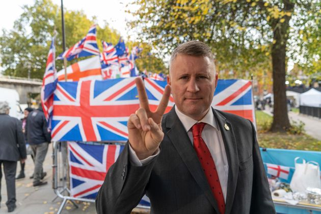 Britain Firsts Paul Golding Charged Under The Terrorism Act
