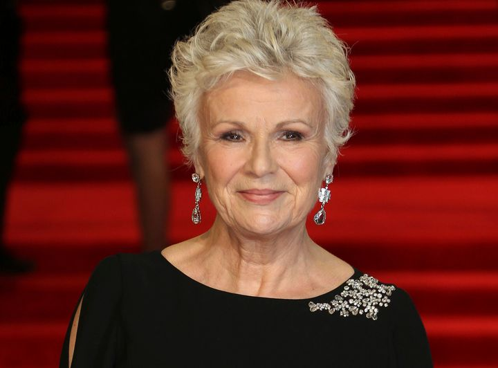 "The illness meant Julie Walters had to be cut from certain scenes in the soon-to-be-released film ""The Secret Garden.&r"