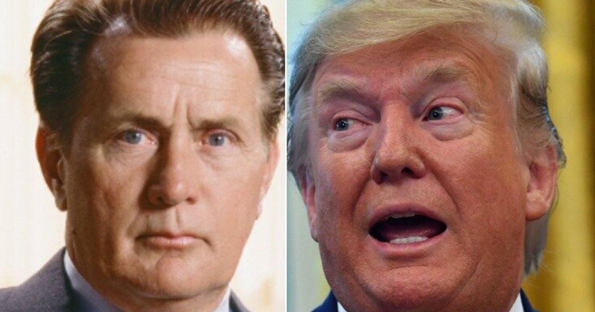 'TV President' Martin Sheen Burns Trump With A New Running Mate For 2020