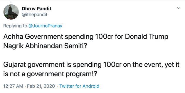 What Even Is Donald Trump Nagrik Abhinandan Samiti? Twitter Has A Lot Of