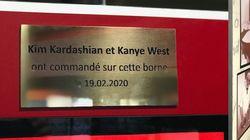 La plaque KFC pour Kim Kardashian et Kanye West n'est pas passée