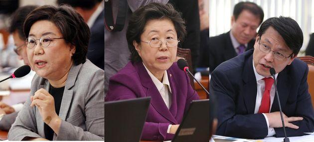 이혜훈, 이은재, 윤상현 의원이 미래통합당 공천에서