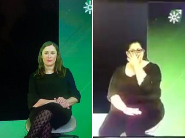 Intérpretes de lengua de signos de Canal