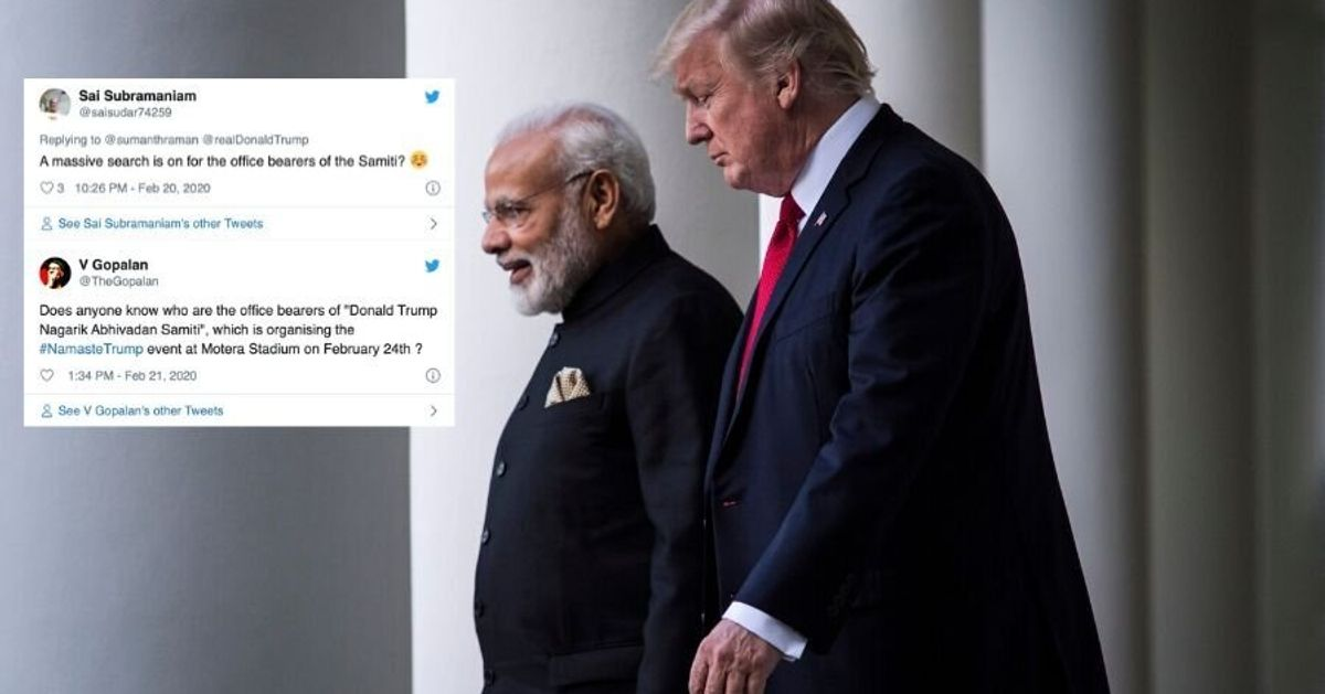 What Even Is Donald Trump Nagrik Abhinandan Samiti? Twitter Has A Lot Of Questions