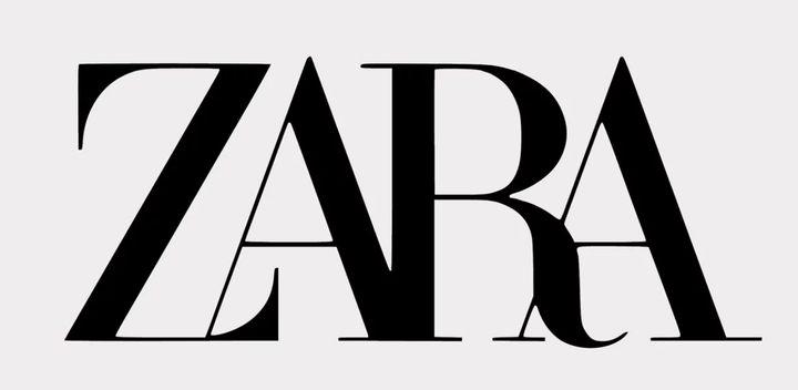 El logo de Zara diseñado por Fabien Baron.