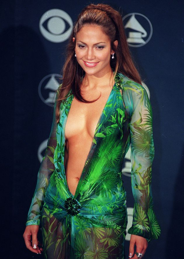 How Jennifer Lopez's Iconic Grammys Dress Changed The Red Carpet