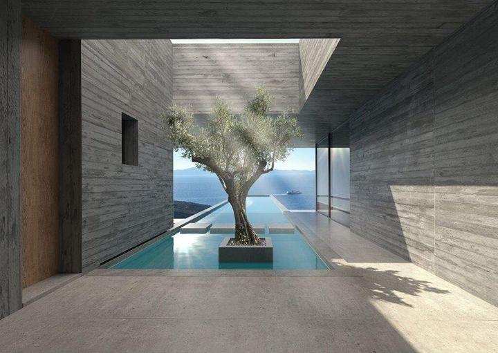 Lap Pool House, Τήνος
