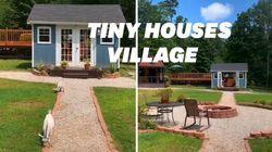 Ces parents ont fabriqué des tiny houses pour respecter l'intimité de leurs
