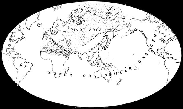Το μακιντεριανό υπόδειγμα του κόσμου: The World Island and the