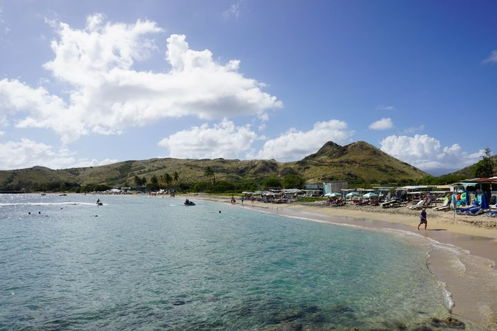 Lion Rock Beach, St. Kitts, St. Kitts and Nevis, Leeward Islands, West Indies, Caribbean, Central America