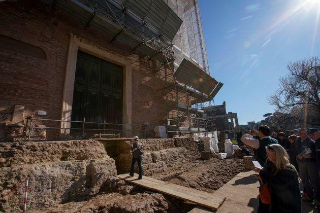 Ρώμη: Στο «φως» ναός αφιερωμένος στον Ρωμύλο, μυθικό ιδρυτή της