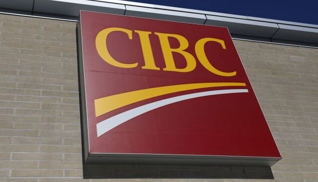 "A CIBC branch is seen here in Ottawa in February 2019. Last month, the bank's CEO said it needed to challenge itself to be ""more efficient."""