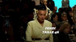 Fendi se démarque à la Fashion Week de Milan avec une mannequin