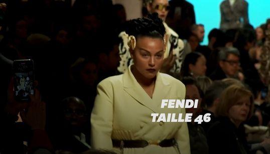 """Fendi se démarque à la Fashion Week de Milan avec une mannequin """"plus"""