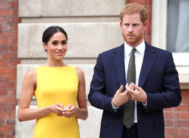 Harry And Meghan Will No Longer Use Word Royal In Branding
