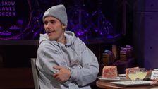 Cara Delevingne Zieht Justin Bieber Nach James Corden Aussehen: 'Unblock Me'