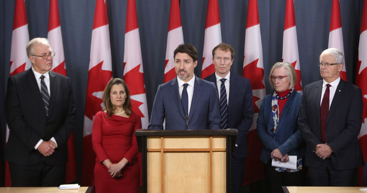 Trudeau: Rail Blockades Must Come Down, Situation 'Unacceptable And Untenable'