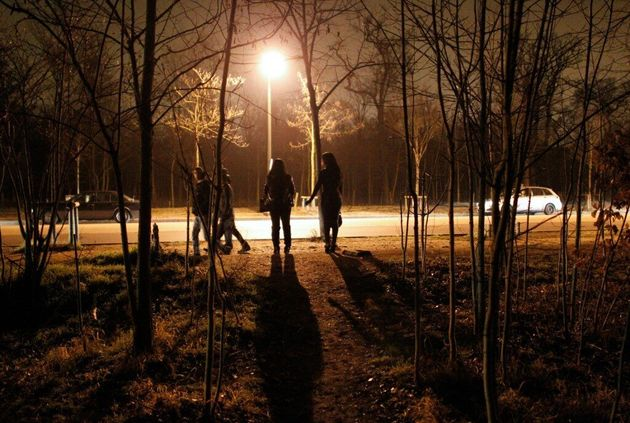 (photo de prostituées au Bois de Boulogne en