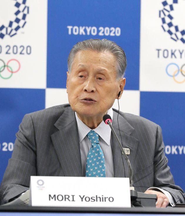 東京五輪・パラリンピック組織委員会の森喜朗会長