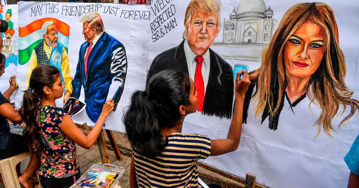 Twitter Goes Crazy With Hashtags Rejecting Donald Trump's Visit To India