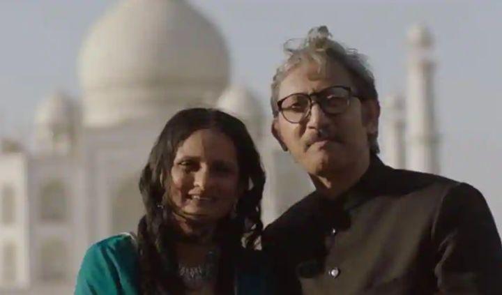 A still from Taj Mahal 1989