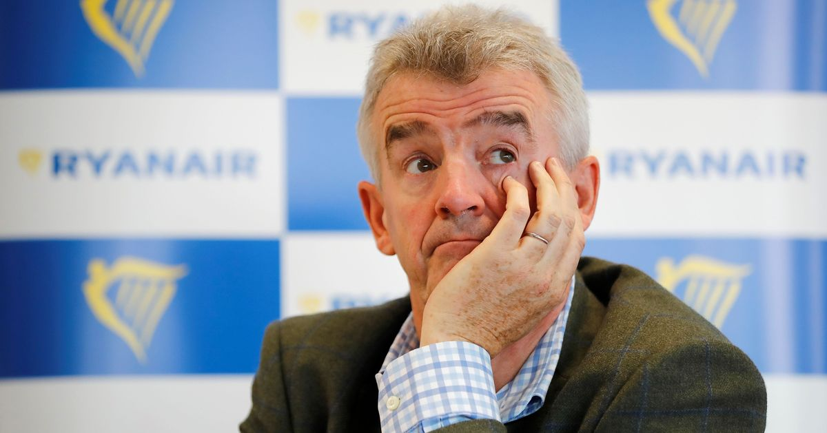 Ryanair Boss Slammed For 'Abhorrent' Comments About Muslim Men