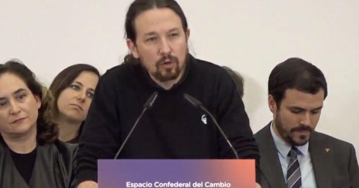 """Pablo Iglesias: """"Aquí hay un Gobierno fuerte y unido que no va a regalar ni medio flanco de ataque a la ultraderecha"""""""