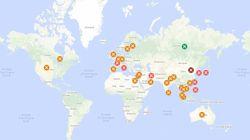 Le coronavirus fait plus de 2400 morts en Chine, près de 77.000 cas recensés dans le