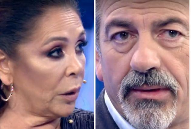 Isabel Pantoja y Carlos Sobera en 'Volverte a ver'