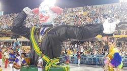 Bozo presidente e empregada na Disney: Crítica política tem destaque em desfiles no Rio e em