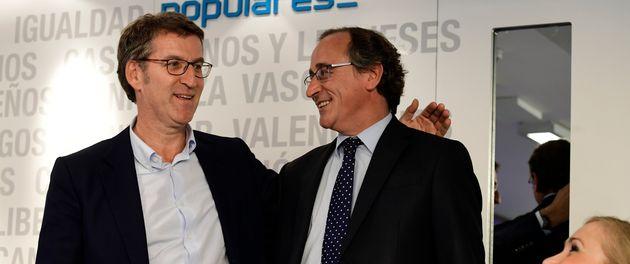 Alberto Núñez Feijóo y Alfonso