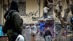 Εξάρχεια: Νέα επιχείρηση εκκένωσης υπό κατάληψη κτιρίου - Τέσσερις
