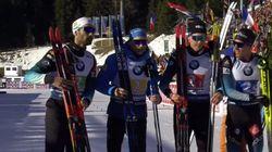La France championne du monde de biathlon en relais hommes, 13e or pour
