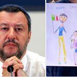 Struggente Bianca di Chieti, mascotte di Salvini, alla maniera di Restituto Valero, soldatino di Franco (di F.