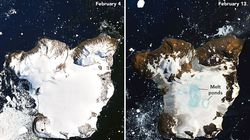 NASA Reveals Startling Images From Antarctica's 'Hottest Days On