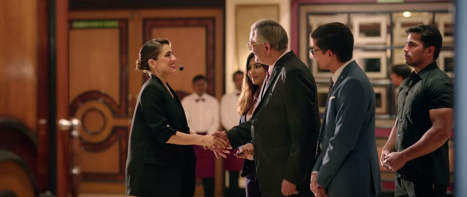 Sara Ali Khan in a scene from Love Aaj