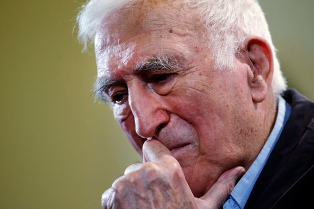 Jean Vanier, the founder of L'ARCHE on March 11,
