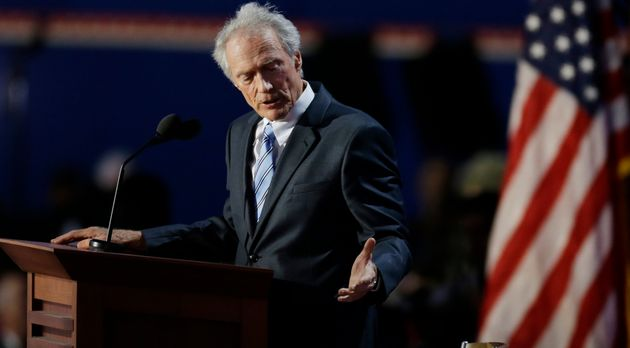 Clint Eastwood, ici en août 2012 en Floride lors de son discours de la