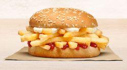 肉がなければフライドポテトを挟めばいいじゃない。バーガーキングの新商品が衝撃的