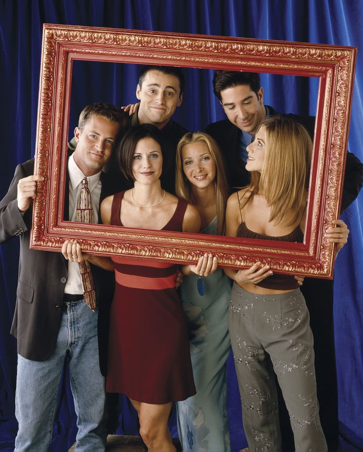 The cast of Friends at the height of the show's success