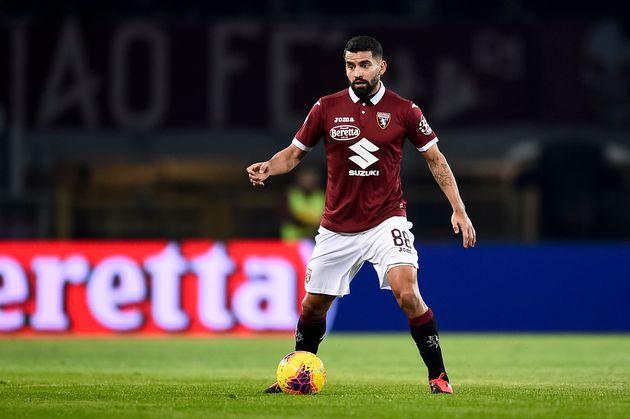 Tomas Rincon du Torino le 8 février lors d'un match contre la Sampdoria à