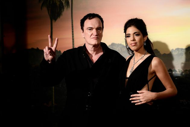 Daniella Pick et Quentin Tarantino lors d'une avant-première de «Once Upon a Time in