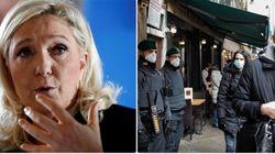Le Pen chiede di controllare le frontiere con l'Italia:
