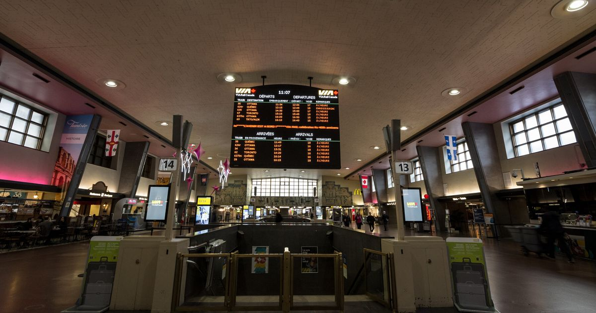 VIA Rail reprend du service dès lundi entre Québec, Montréal et Ottawa