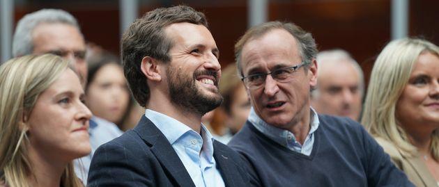 Pablo Casado y Alfonso