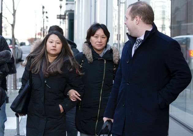 Xiaoning Sui after entering a plea in connection with the college admissions scandal in Boston on Feb....
