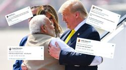 #GoBackTrump: Indian And American Twitter Are Tossing Trump Back And