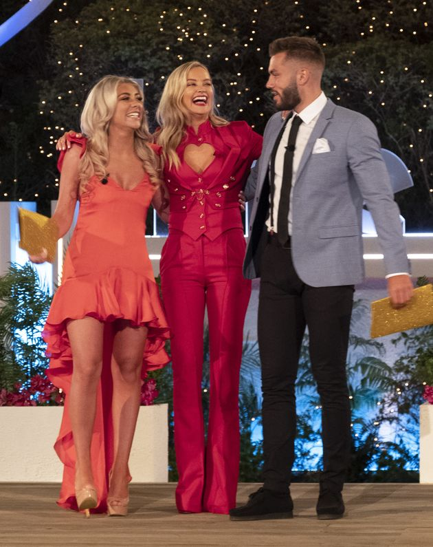 Paige Turley and Finn Tapp were crowned Love Island winners last